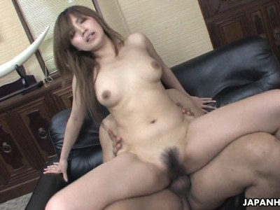 After a hot sixty nine she mounts his erect cock