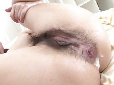 Amateur trio porn with brunette Kyoka Ishiguro