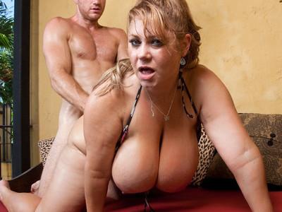 Samantha 38G & Levi Cash in My Friends Hot Mom