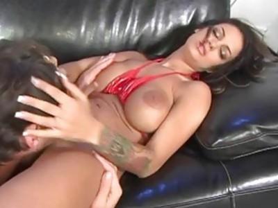 Angelina Valentine gets good drilling