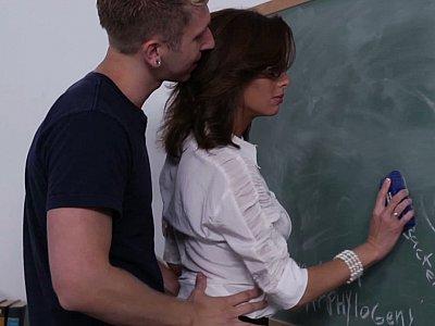 Fucking his teachers good & hard