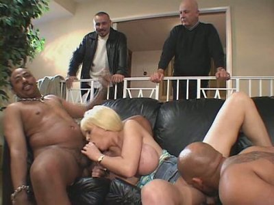 Two horny studs drill one busty chick Carson Carmichael