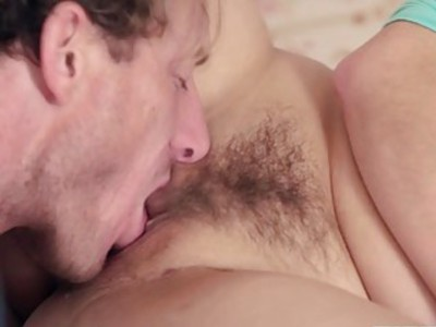Step dad eating Alex Chances sweet pussy