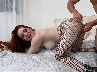 Fishnets hottie