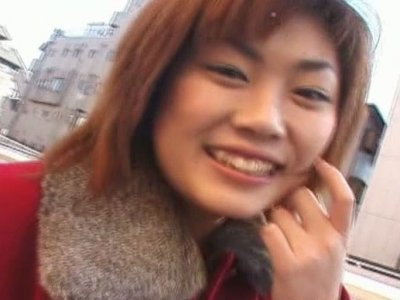 Chubby face slut You Kawamura is giving blowjob