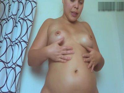 Shower Enema Belly
